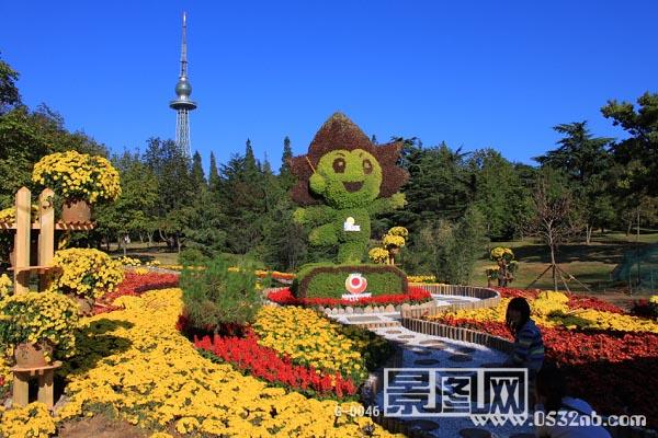 青岛中山公园喷泉图片大全下载; 青岛的风光;