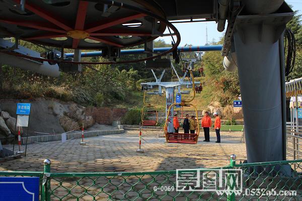 青岛植物园通往榉林公园索道