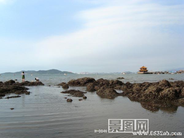 青岛栈桥风景-前海栈桥