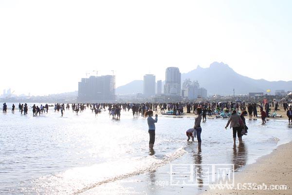 景图网-青岛石老人海水浴场风景照片