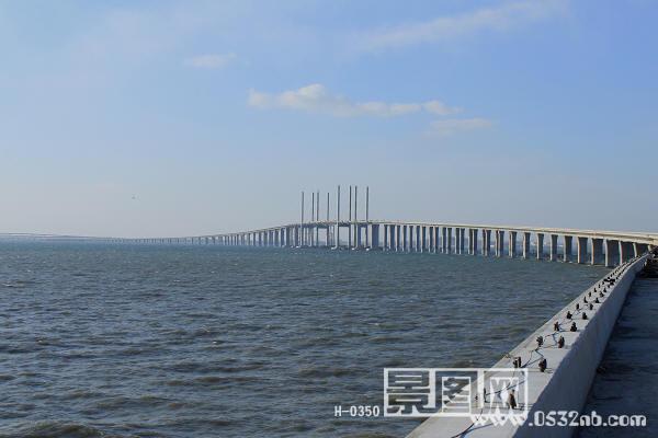 青岛至黄岛跨海高架桥