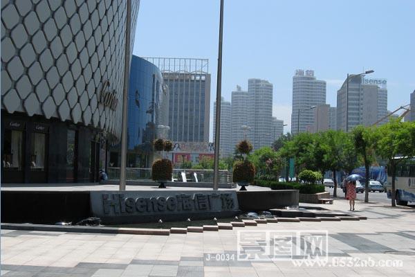 青岛海信广场风景