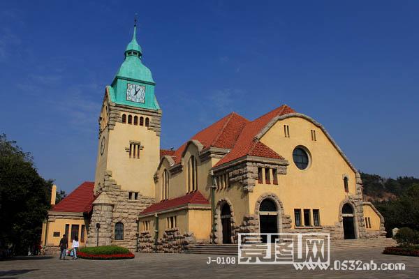青岛基督教堂景观