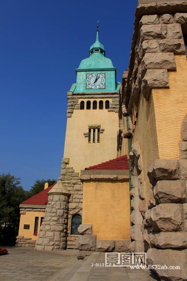 青岛基督教堂风景照片-景图网