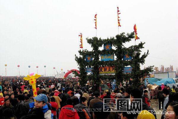 田横岛祭海节入场主大门