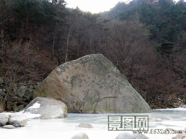 青岛崂山北九水风景区摄影照片