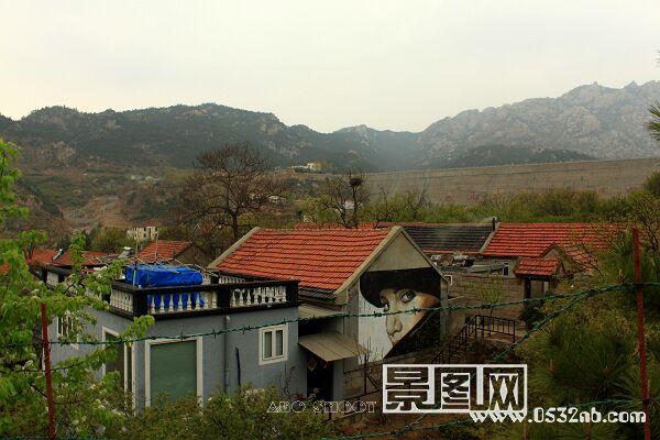 青岛崂山大河东山脉摄影风景照片